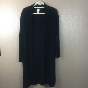 Chico's long cardigan size 0